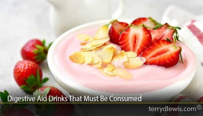 Digestive Aid Drinks That Must Be Consumed
